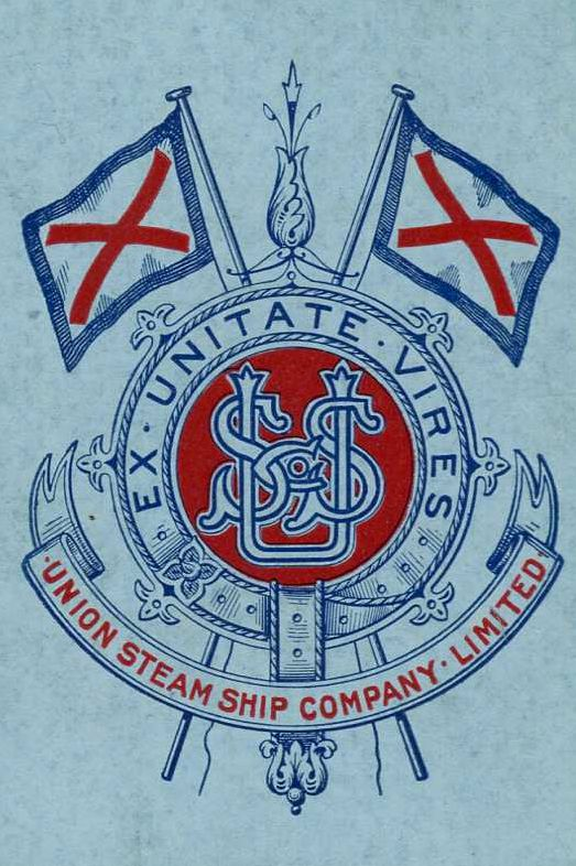 Union Steam Ship Co. playing card